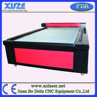 chines hot sale xz1626 laser cutting bed