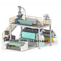 PP meltblown non-woven fabric making machine