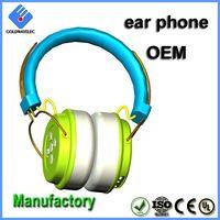 Color Logo Customized Adjustable Headband Sound Proof Earmuff thumbnail image