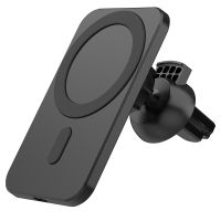 Wireless Charging 15W Magnetic Mobile Phone Holder Car Mount for iPhone 12/12 Pro Max thumbnail image