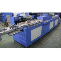 Two colors satin labels automatic screen printing machine thumbnail image
