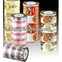 food grade laminated plastic roll film