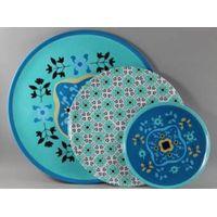 Creative Melamine Plate Set Of 3 Sizes