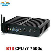 Intel core i7 gen 7th 7500u Mini PC Windows 10 HDMI DP 4K HTPC Desktop Computer with 4k HD Micro PC thumbnail image