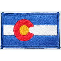 Embroidery Flag Banner Patch