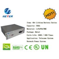 48v50Ah E-Bike Lithium Battery; EV/Scooter/Moped Battery; LiFePO4/NMC Battery Series; 48v Li-ion Bat