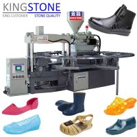 Rotary 1/2 Color Plastic Shoes Injection Moulding Machine thumbnail image