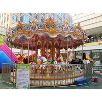 luxury amusement rides carousel horse for sale thumbnail image