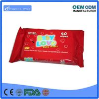 Customized cheap and good quality private label wet wipe