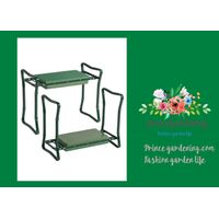 "Deep-Seat Garden Kneeler garden plant accessories 24"" W x 9-1/2"" D x 19-1/2"" H with a 8-1/2"" D cush"