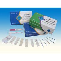 rapid HCG pregnancy test cassette