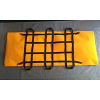 yellow pp non woven waterproof sealed cremation dead body bag with six handles