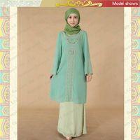 MF19120 beautiful maxi dress muslim thumbnail image