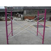 6X4 Red Powder Coated Shoring Frame Scaffolding