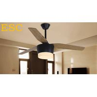 52'' Zhongshan Guzhen remote control ceiling fan lamp with led light