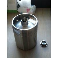 2L stainless steel mini beer keg
