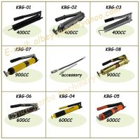 jianbo hand grease gun with all types