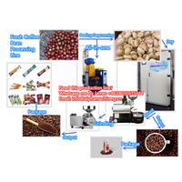 Coffee Bean Processing Line/Fresh Coffee Bean Peeling Machine