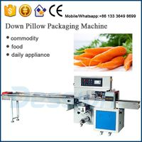 Film Packaging Type carrot packing machine
