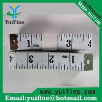 white! 3m/120inch Soft PVC Measuring Tape/300cm*2cm Long Tap Measure for Promotion Gift Tool thumbnail image