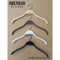 Birchen Wood Clothing Hangers High Quality Factory Price
