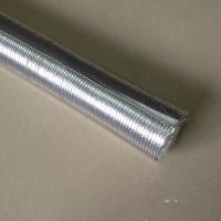 Aluminum fiberglass heat protection tube