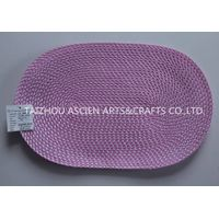 Colorful oval placemats YS-PP12-061OV