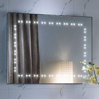 Modern Touch Sensor Bluetooth LED Bathroom Smart lighted Mirror