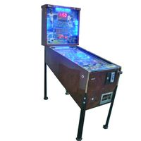 Electric coin operated arcade pinball game machine supplier