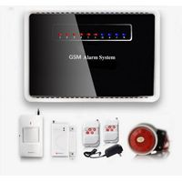 IR-G12 433mhz wireless intelligent gsm smart home alarm system kit thumbnail image