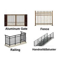 New Design Cheap   professional manufacturer of  Aluminum Fence Panels