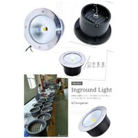 COB LED INGROUND LIGHT