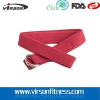NEW Loops Yoga Stretch Strap, Foot Pad Cotton Yoga Strap Custom