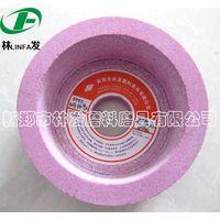 Pink corundum grind wheel for knives thumbnail image