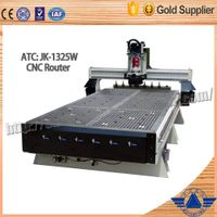 ATC wood cnc lathe machine for woodworking wood cnc router price competitive