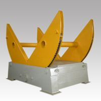 Double Chain 35 tons, 45 tons, 60 tons Stone Block Turning Machine, Block Turnover Machine
