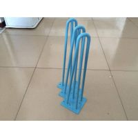 hairpin legs, blue surface, hairpinlegs, different sizes,