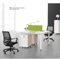 modern office staff table ,staff desk worksatation(PG-F17A-2A)