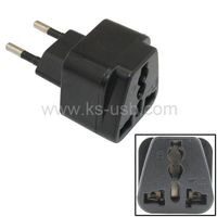 EU Travel Adapter AC Power Plug Convert AU US UK to EU Plug thumbnail image