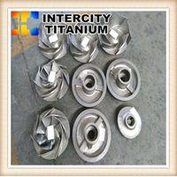 china titanium lost wax casting for titanium pump ,titanium Impeller thumbnail image