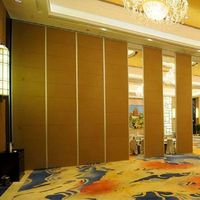 2019 Cheap Price Moving Operable Partition Wall With Suspended Track System For Interior Office thumbnail image