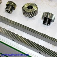 China factory supply high presicion steel gear and racks set