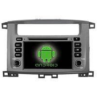 Android double din car video car PC for TOYOTA land cruiser 100 new car central media dvd gps OEM thumbnail image