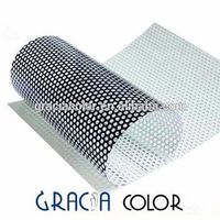 High Quality One Way Vision Perforated Film