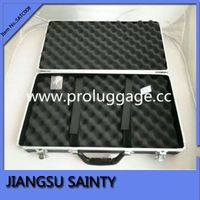 Simple style black tool cases portable metal tool case