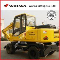 Mini excavator variant product sugarcane grabbing machine DLS880-9A for sale thumbnail image