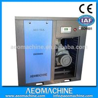 55KW 75HP 10Bar Electric Silent Screw Type Air Compressor For Mining Industry