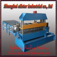 Curved steel sheets/ curving machine