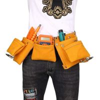 heavy leather tool pouch belt thumbnail image
