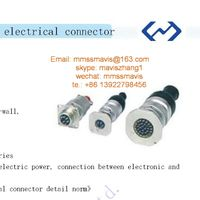 mil spec MIL-DTL-26482 Y50EX series circular electrical connector